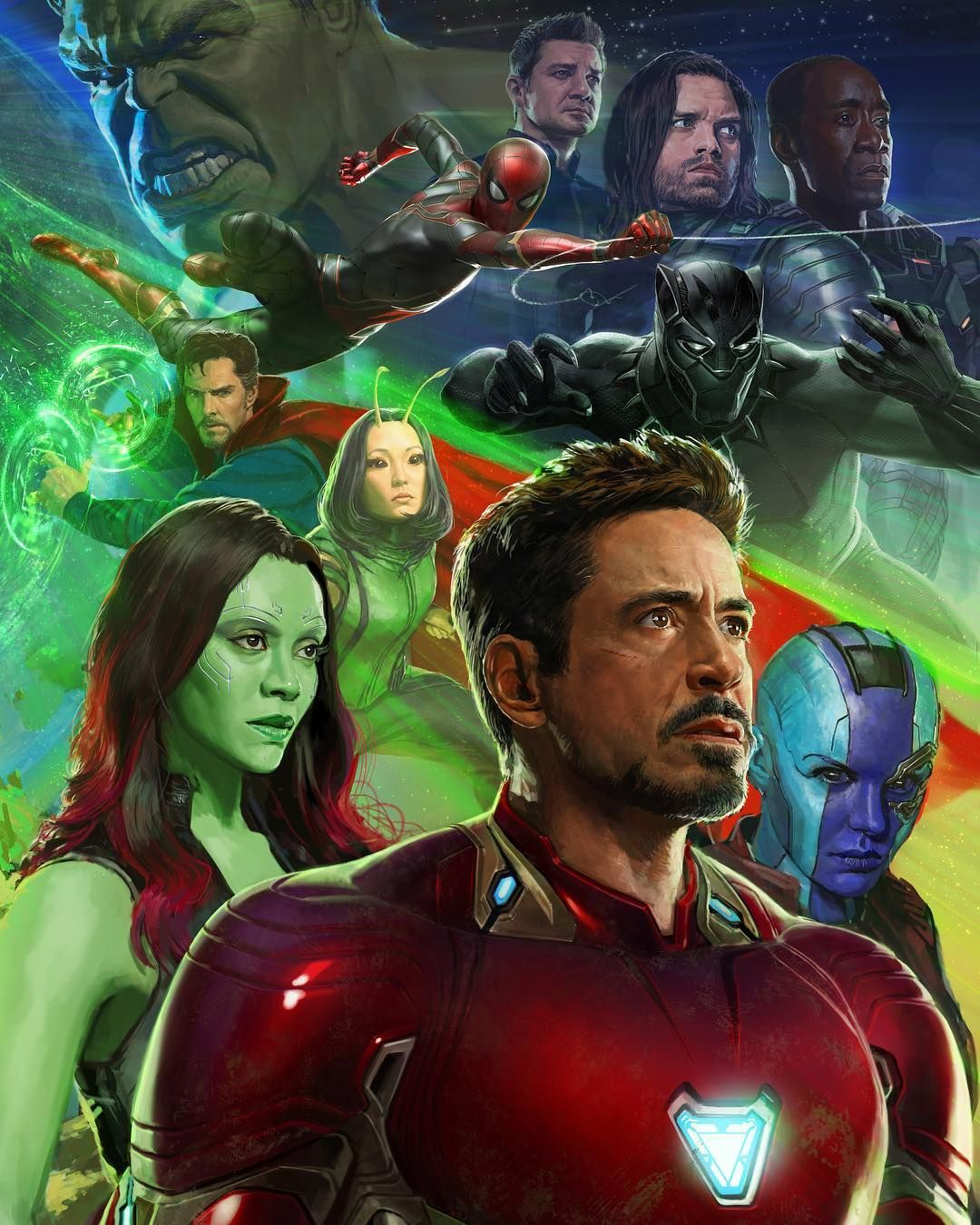 Avengers Infinity War Comic Con Poster Released Features The