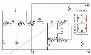 electronic coin toss circuit diagram electronic circuits stuff rh pinterest com electronic circuits to build electronic circuit toys for kids