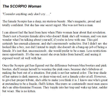 Scorpio man scorpio woman linda goodman