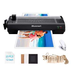 Blusmart 13 Inches Laminator Machine For A6 A5 A4 A3 Laminators Roller Design Office And School Supplies