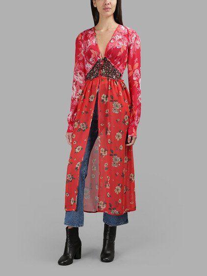 ATTICO Attico Women S Red Flower Dress.  attico  cloth  dresses ... f42ac2be1