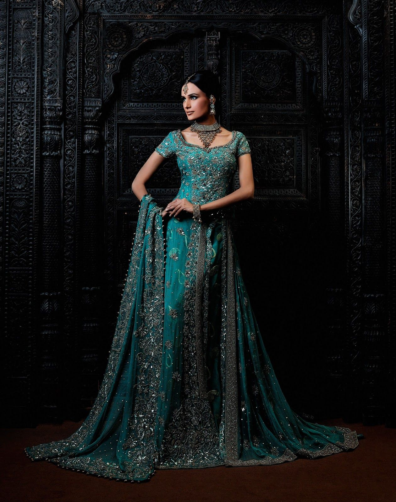 The aura of pakistani bridal dresses pakistani bridal for Dresses to wear to a indian wedding