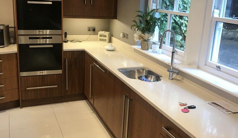 Used Luxury Solid Walnut Kitchen With Gaggenau Appliances Walnut