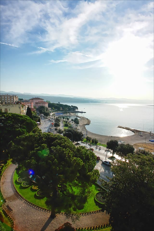Opatija is a town in western Croatia, just southwest of