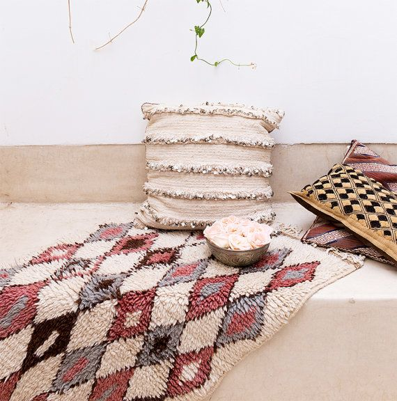Urban Outfitters Berber Rug: Vintage Moroccan Wool Rug The Isabelle Beni Ourain By