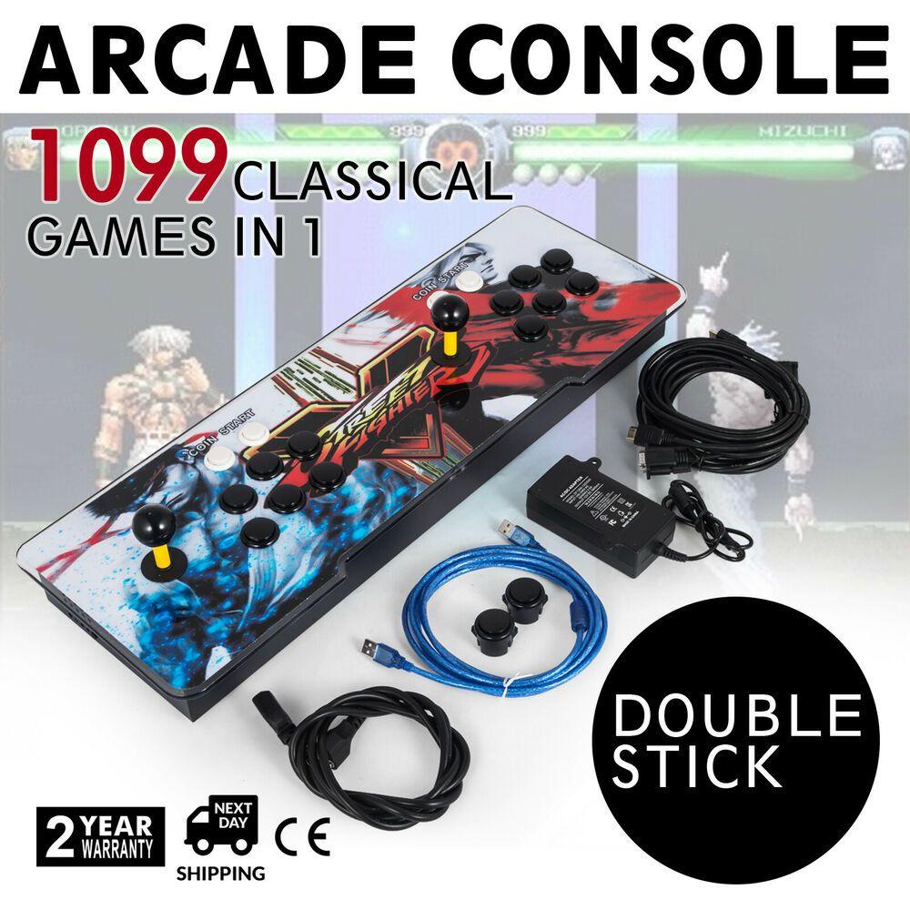 1099 In 1 Pandora Box 5S Arcade Video Game Double Stick