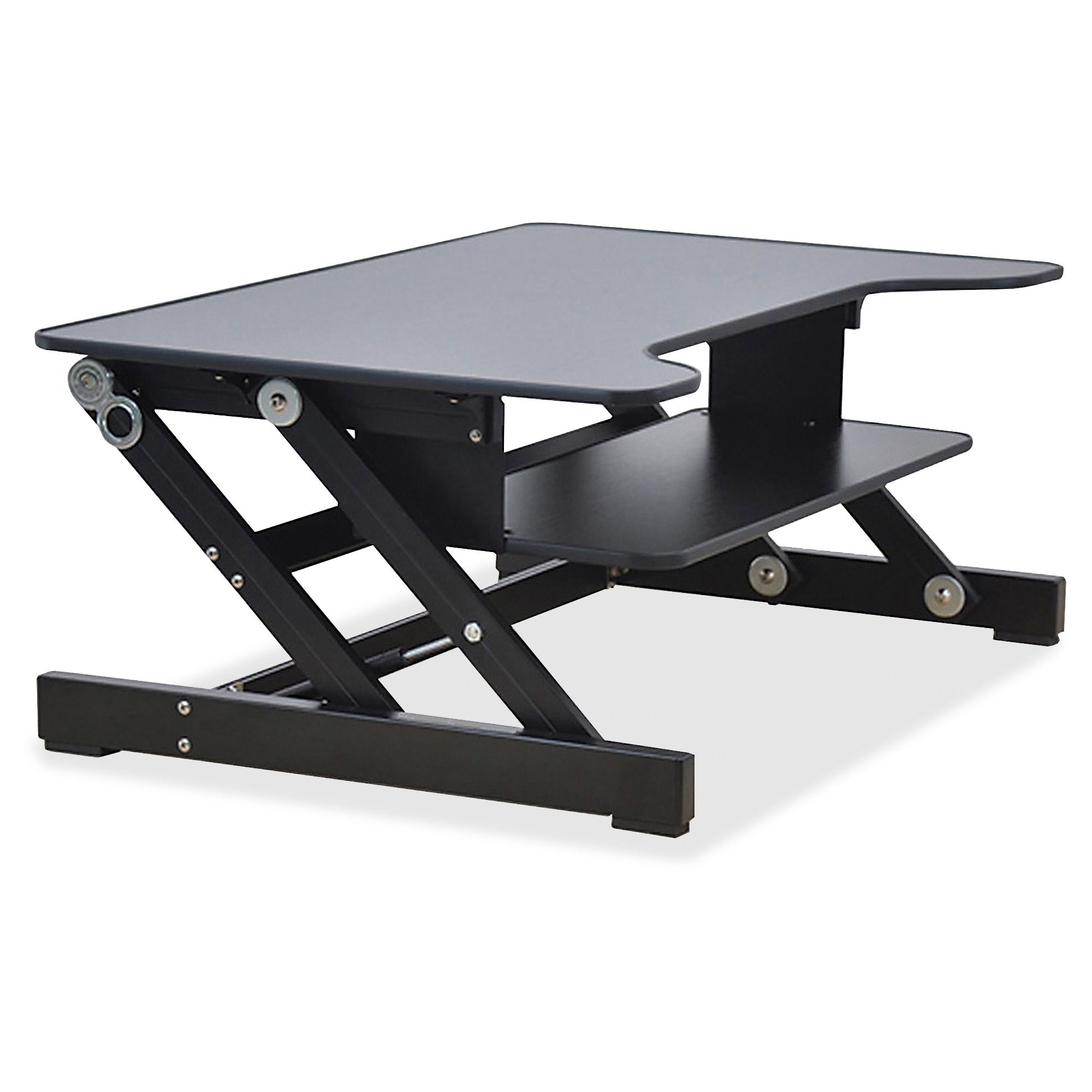 1000+ ideas about Computer Stand For Desk on Pinterest | Black pipe