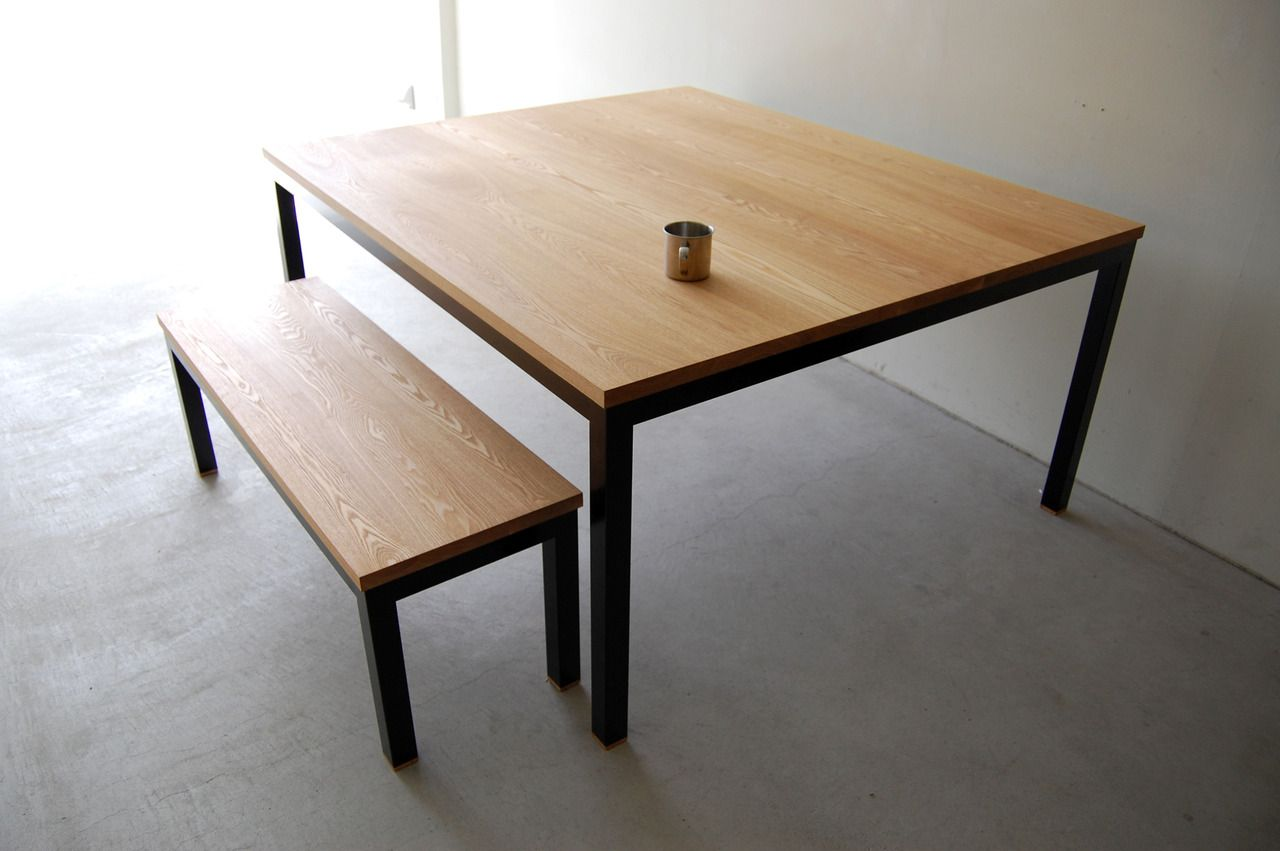 Atelier table atelier long bench misc in 2019 - Interior furniture warehouse buffalo ny ...