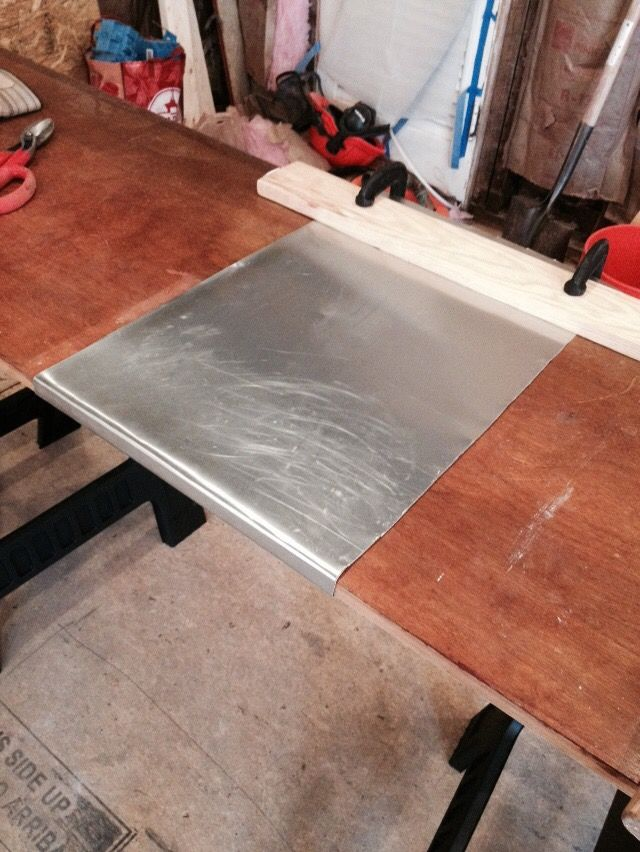 Make Me Pretty Zinc Countertop Diy Diy Countertops