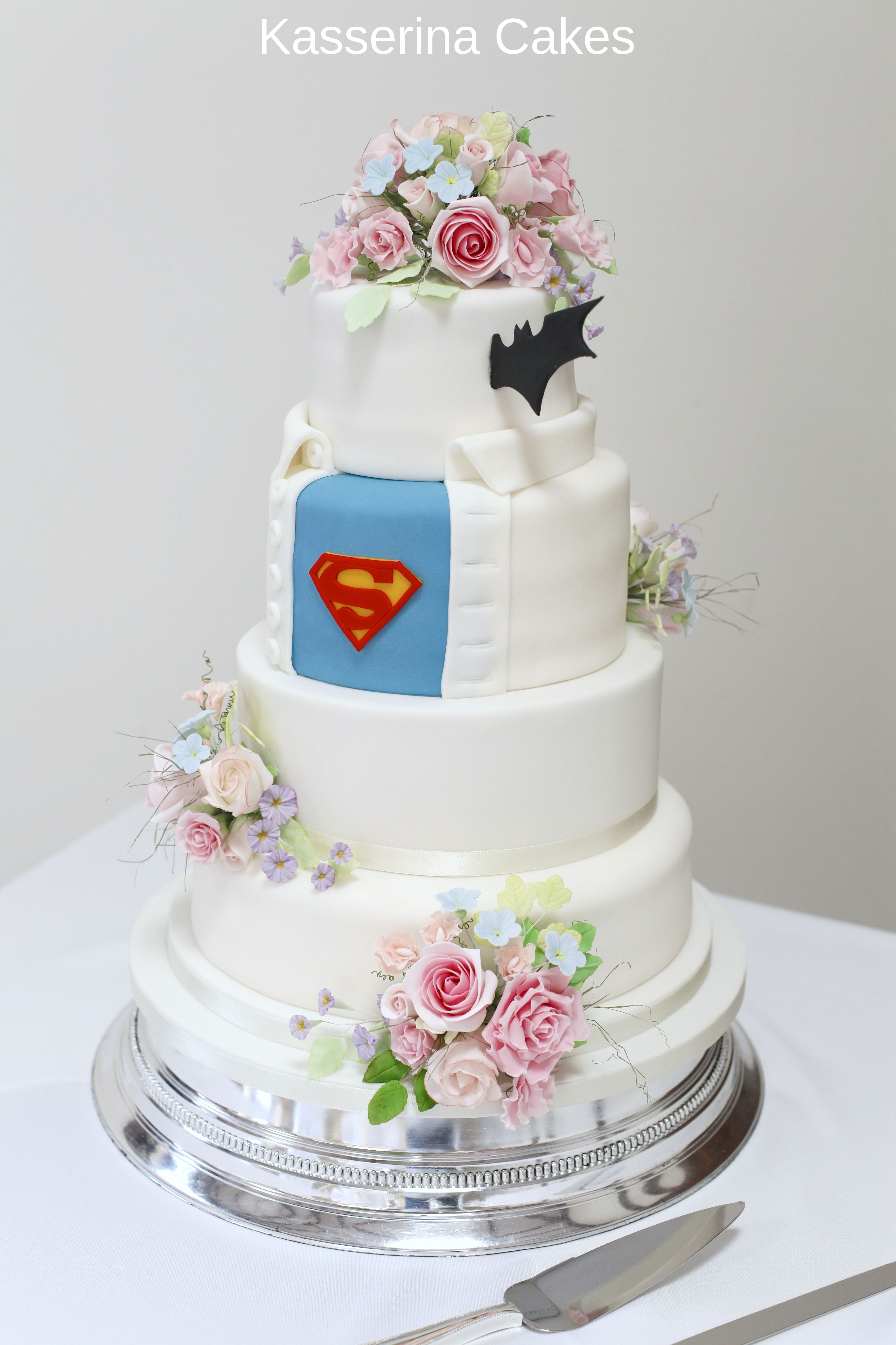 Superman to the rescue on your wedding day. Image from Kasserina ...