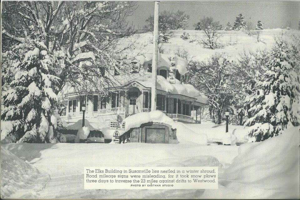 The Elks Lodge In Susanville This Is Before I Was Born But I