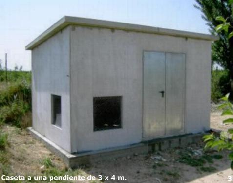 Casetas en hormigon armado casas y casetas en hormigon for Casetas metalicas ofertas