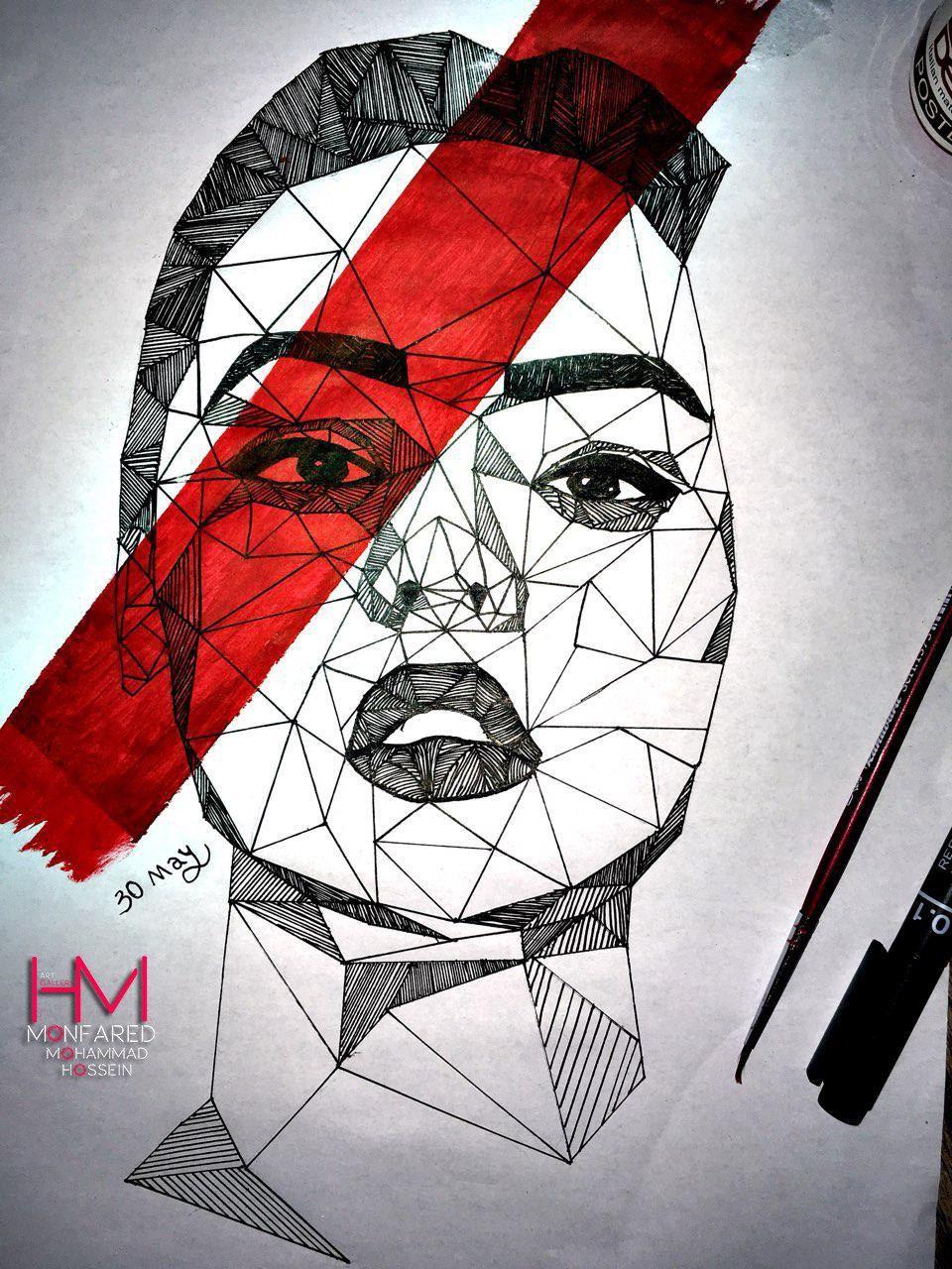 Rapid art drawing draw sketch face women