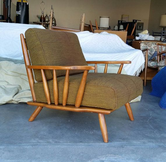 Incredible Vintage 1950S Cushman Lounge Chair Mid By Caraccident5 Cool Chair Designs And Ideas Caraccident5Info
