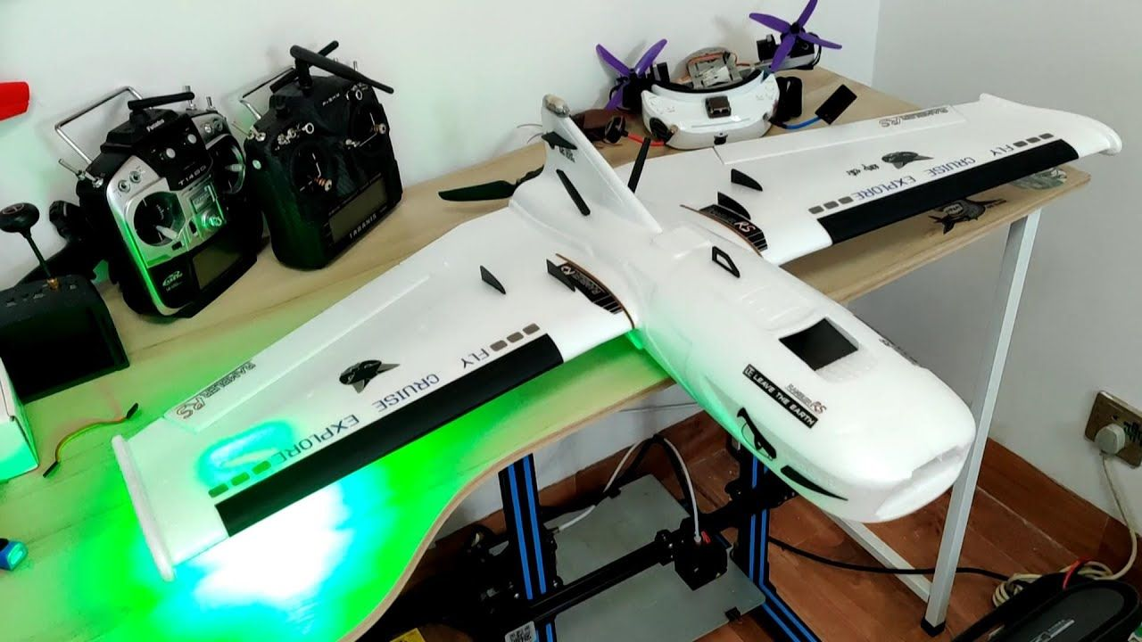 How To Build Long Range Fpv Flying Wing Rambler Rs Fpv Fpv Drone Racing Flying Wing