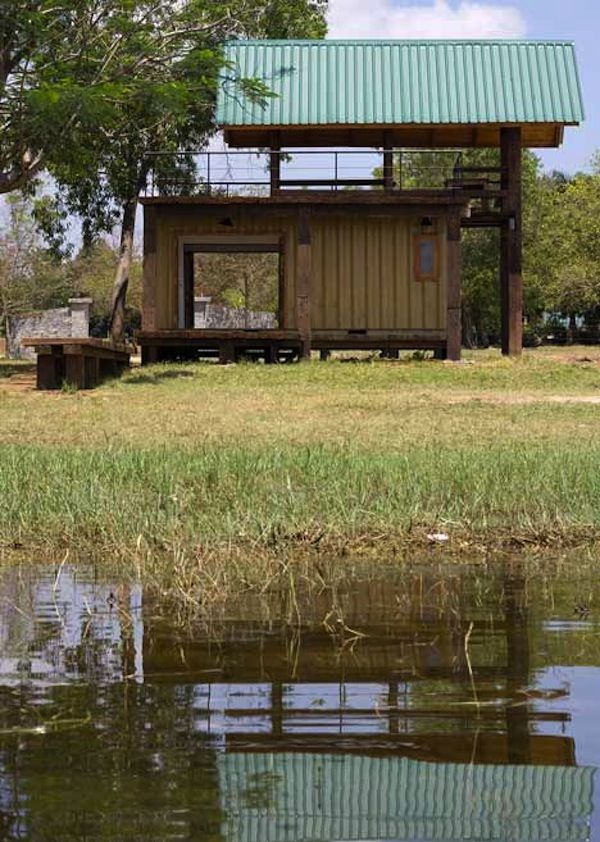 Shipping Container Turned Lake Cabin By Damith Photo By