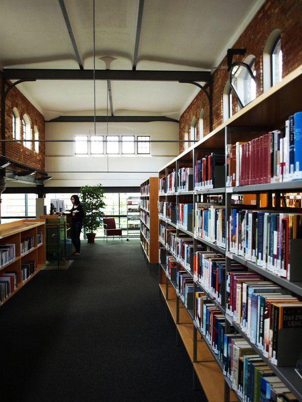 Architekten Landau library in landau germany by lamott architekten housed in