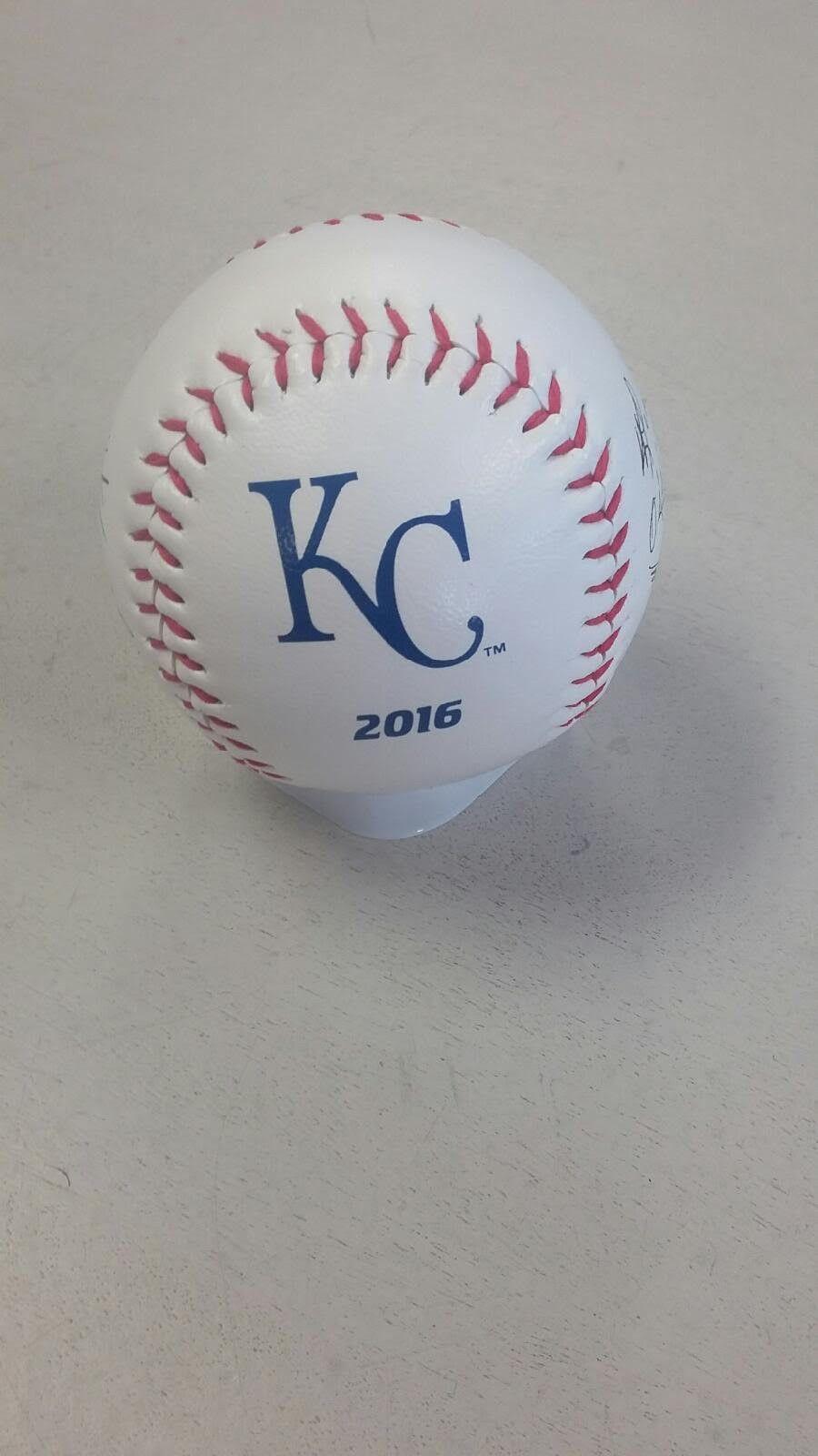 Kansas City Royals 2016 Facsimile Signature Collectible Baseball by Rawlings