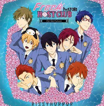 Free! Iwatobi host club! Makoto - Mori, Nagisa - Honey