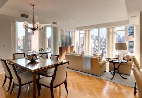 combined living and dining room - Google Search For the Home