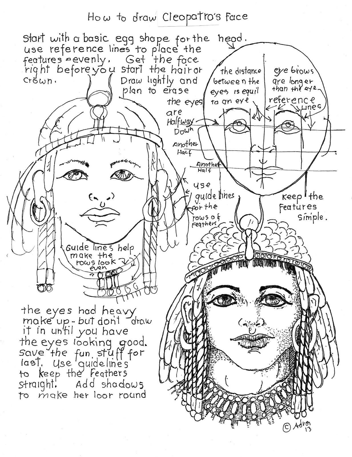 How To Draw Worksheets For The Young Artist Draw