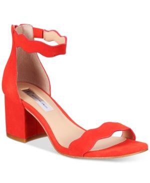 f9925eb44c3 Inc International Concepts Hadwin Scallop Block-Heel Sandals ...