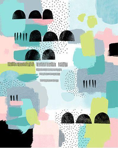 ART   print & pattern blog : lamai mccarten   Find fun fabrics for your next project www.myfabricdesigns.com