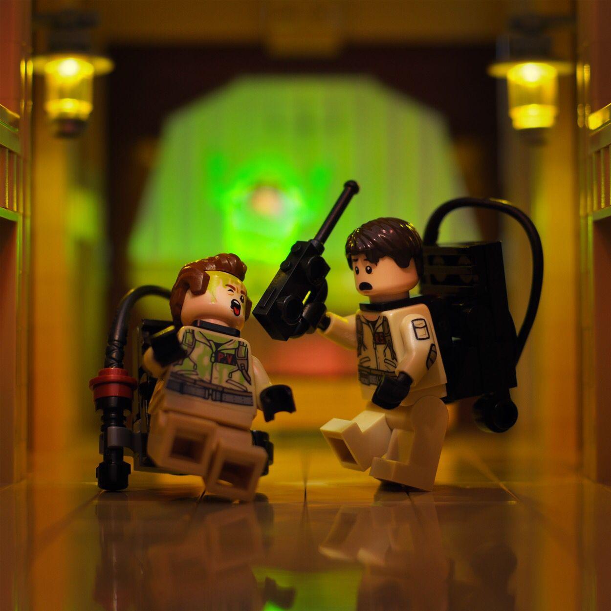 Who Ya Gonna Call Ghostbusters In Lego Amazing Lego Creations Lego Design Lego Photo