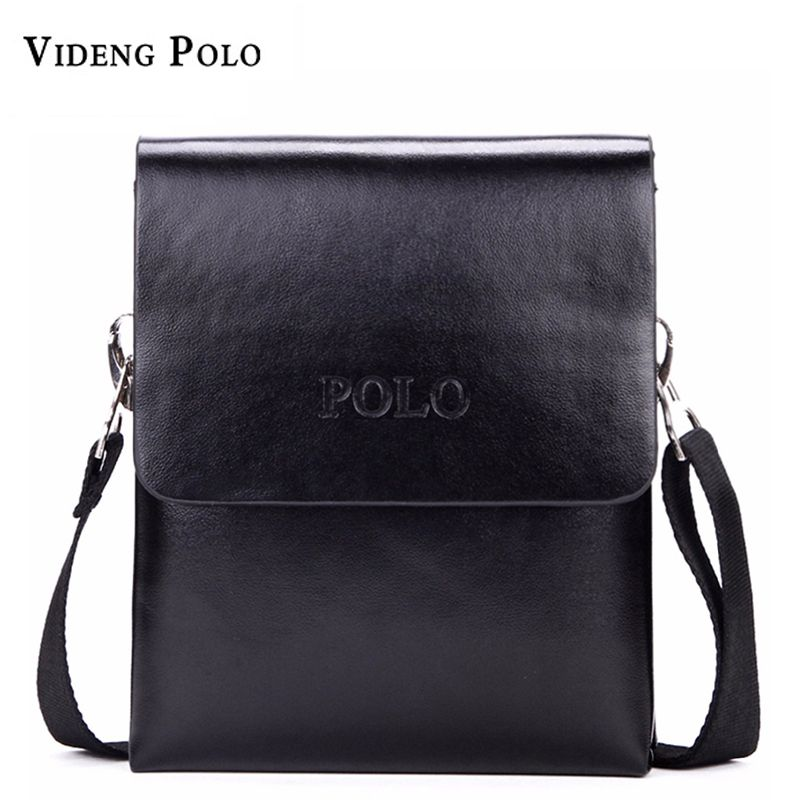 New POLO brand Fashion Business Men Shoulder bag designer handbag ...