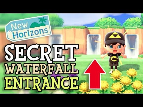 Animal Crossing New Horizons: SECRET AREA & WATERFALL ...
