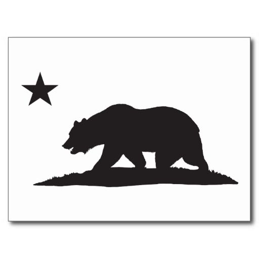 california republic bear black postcard california republic rh pinterest co uk caliber logo caliber log-in