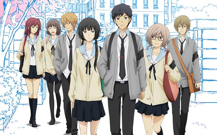 Download wallpapers ReLIFE, Japanese manga, An Onoya