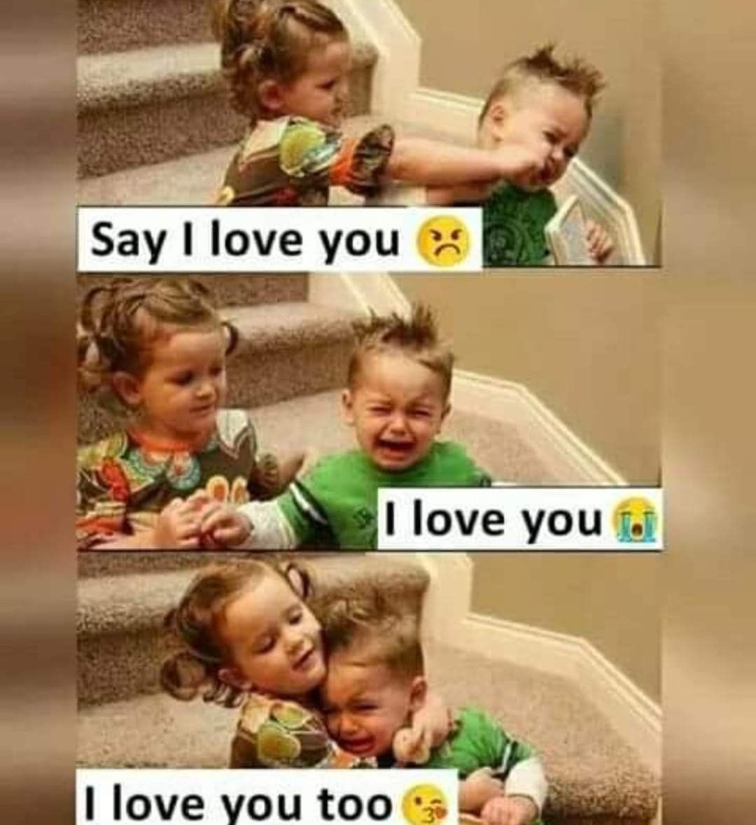 Pin By Naminas On نكت Funny Quotes For Kids Love You Meme Happy Kids Quotes