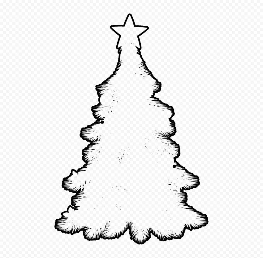 Christmas Tree With Star Free Vector Icons Designed By Freepik Christmas Tree Silhouette Free Icons Vector Icon Design