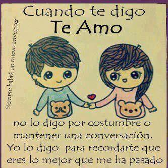 Frases De Amor Cute Spanish Love Quotes Pinterest Love