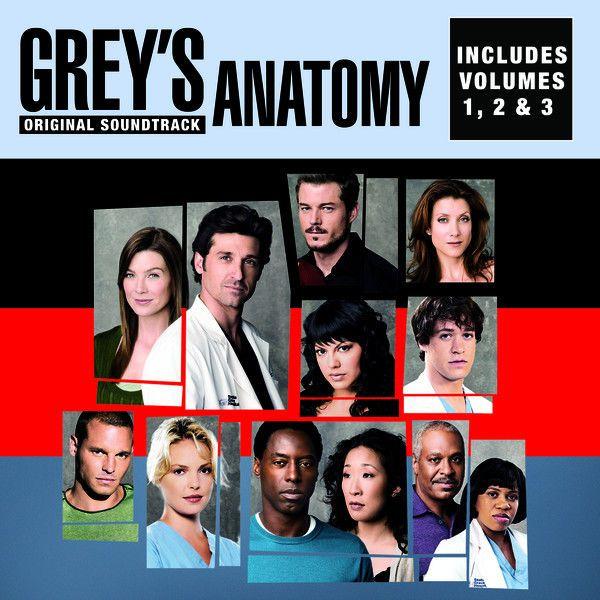 Greys Anatomy Vol 1 2 3 Original Soundtrack By Various