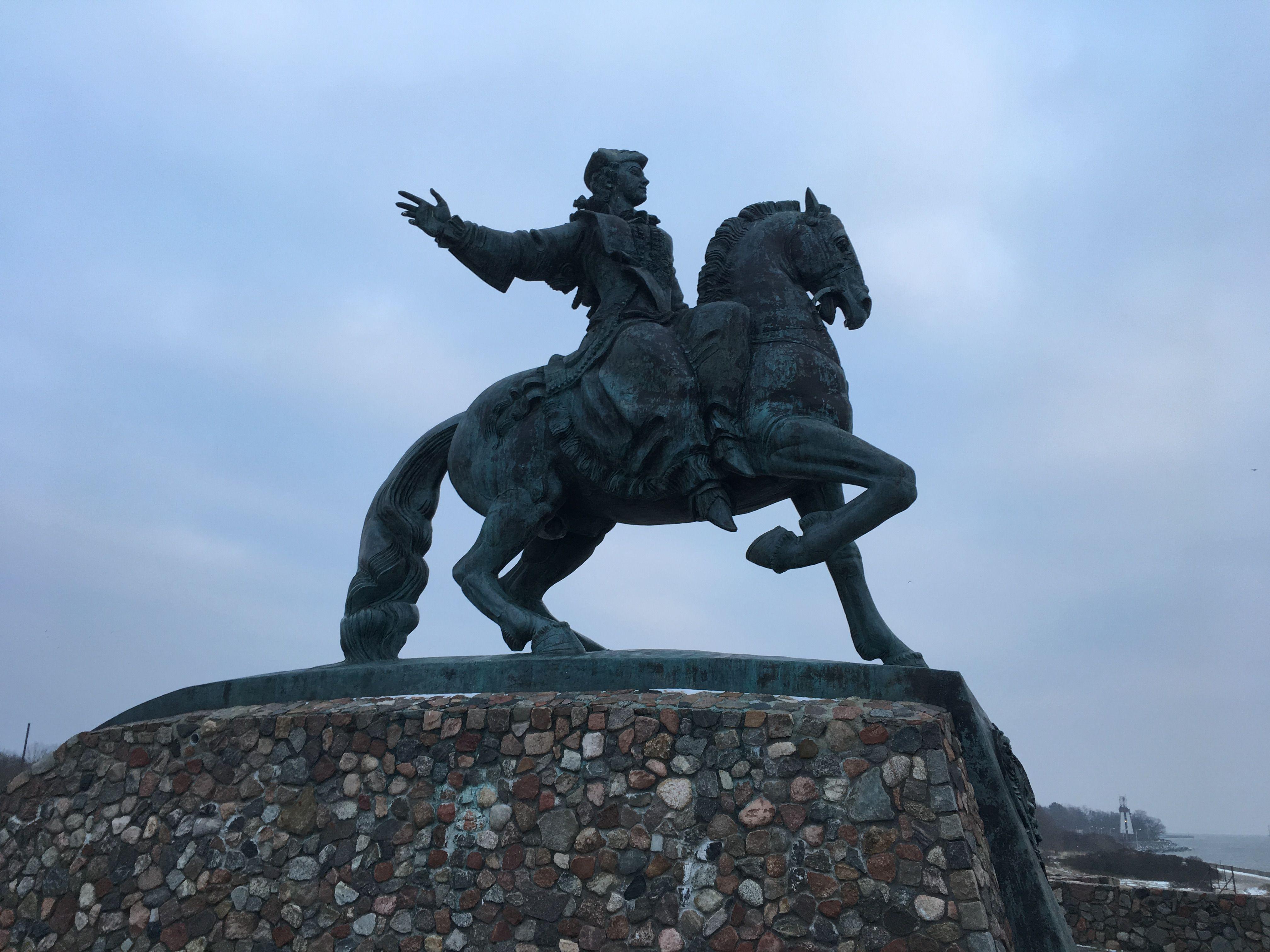 Памятник императрице Елизавете Петровне. Фото: Vladimir Shveda