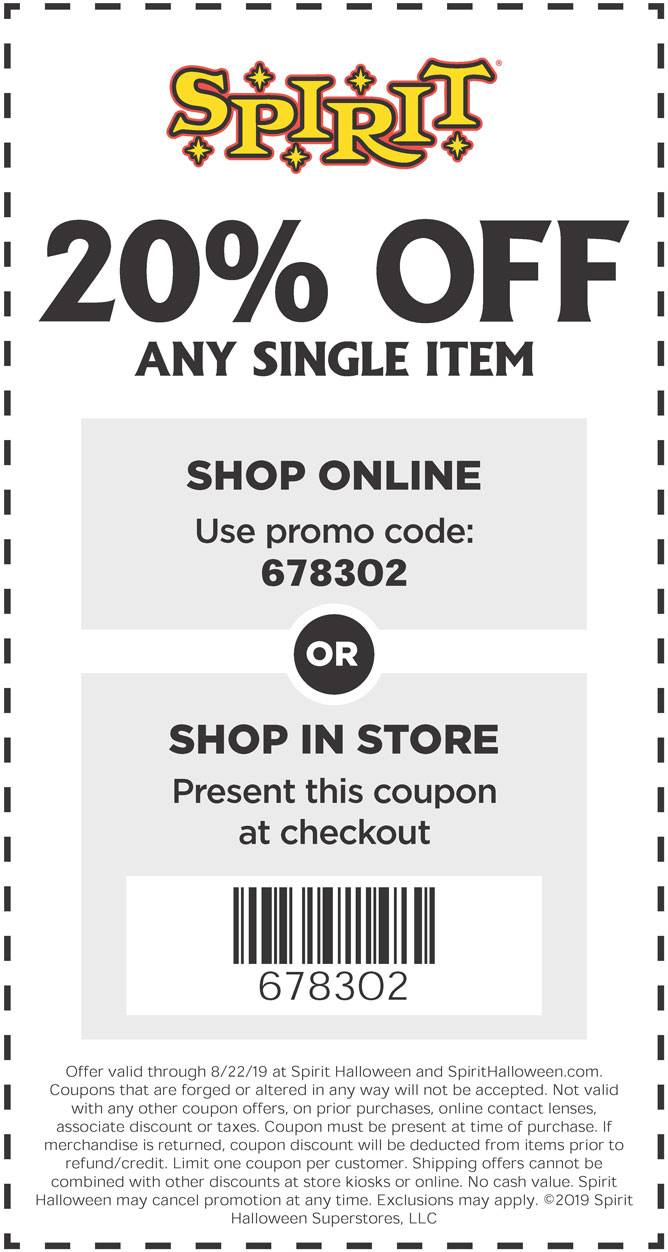 StoreLocCoupon Halloween stores