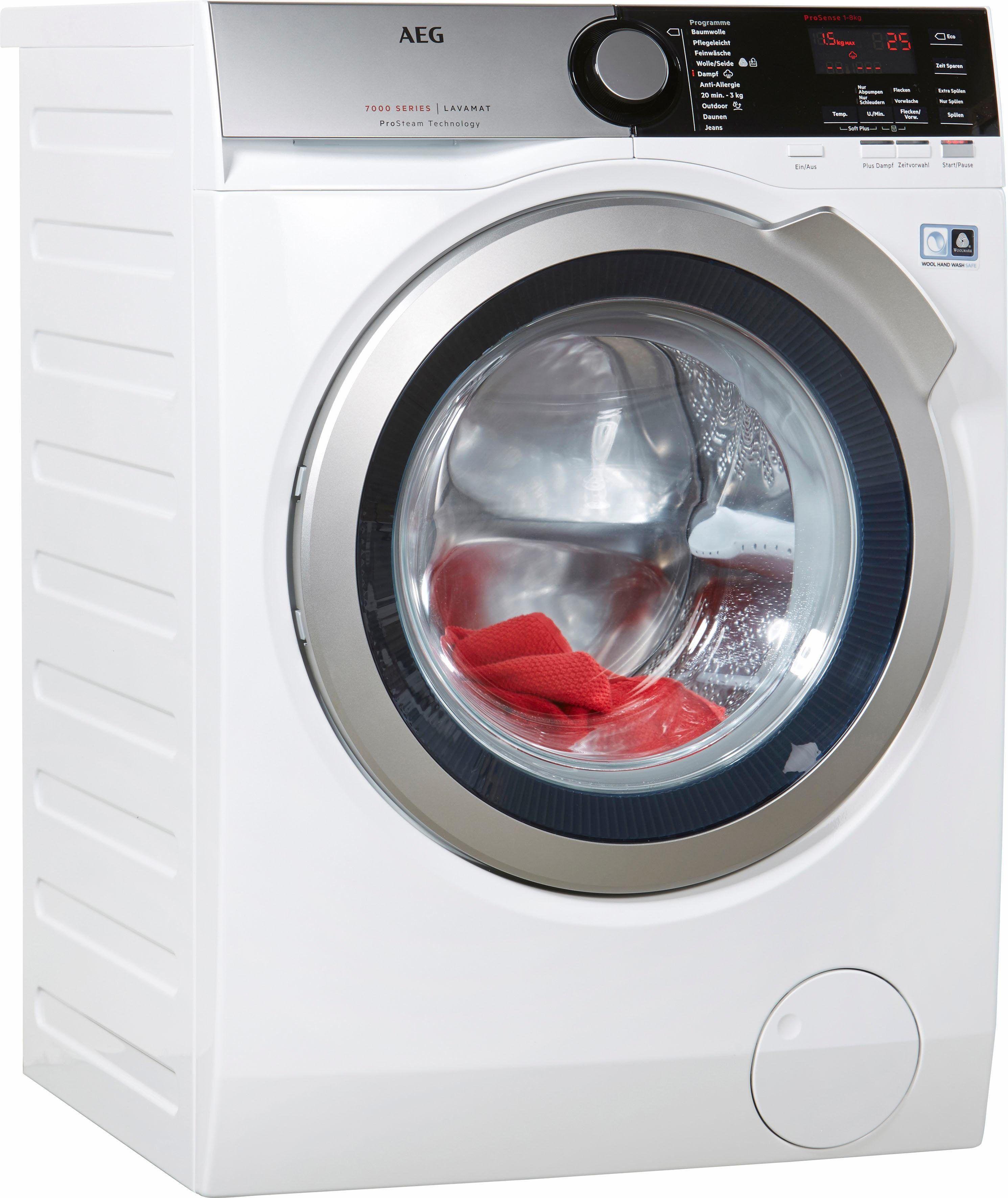 Aeg Waschmaschine L7fe68pros A 8 Kg 1600 U Min Aeg Waschmaschine Waschmaschine Wasche