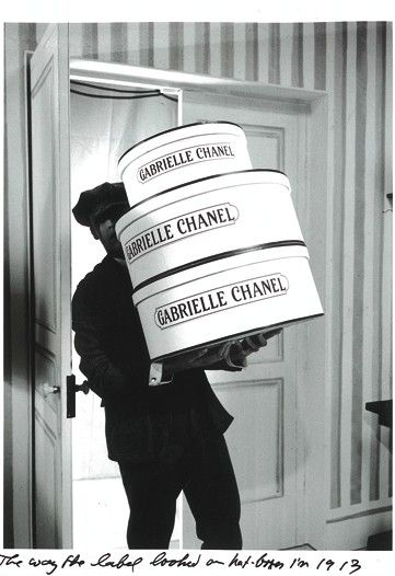 Original Label Name for Coco Chanel - Hat Boxes  www.MadamPaloozaEmporium.com www.facebook.com/MadamPalooza