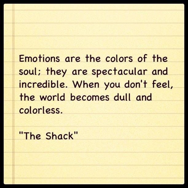 The Shack is full of wisdom