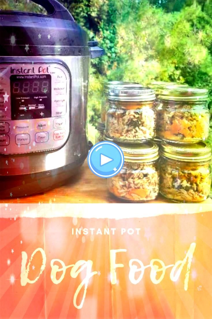 your dogs tail wagging with this Instant Pot Dog Food Recipe Its easy to make in just 30minutes and my dogs love the tasteKeep your dogs tail wagging with this Instant Po...
