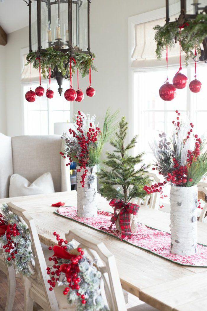 weihnachtliche tischdeko selbst gemacht 55 festliche tischdekoration ideen weihnachtsdeko. Black Bedroom Furniture Sets. Home Design Ideas