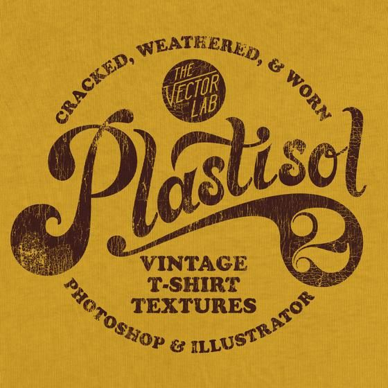 Plastisol Vintage T Shirt Textures Vintage Tshirts Screen Printing Designs Screen Printing Ink