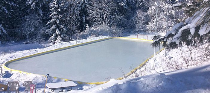 Build Your Own Backyard Ice Rink | NiceRink | Backyard ...