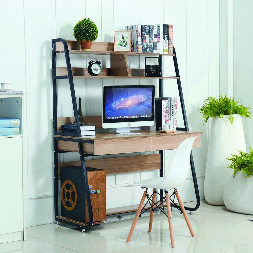 Great Diy Corner Office Desk That Will Impress You Functional Computer Desk Bookshelf Desk Small Computer Desk