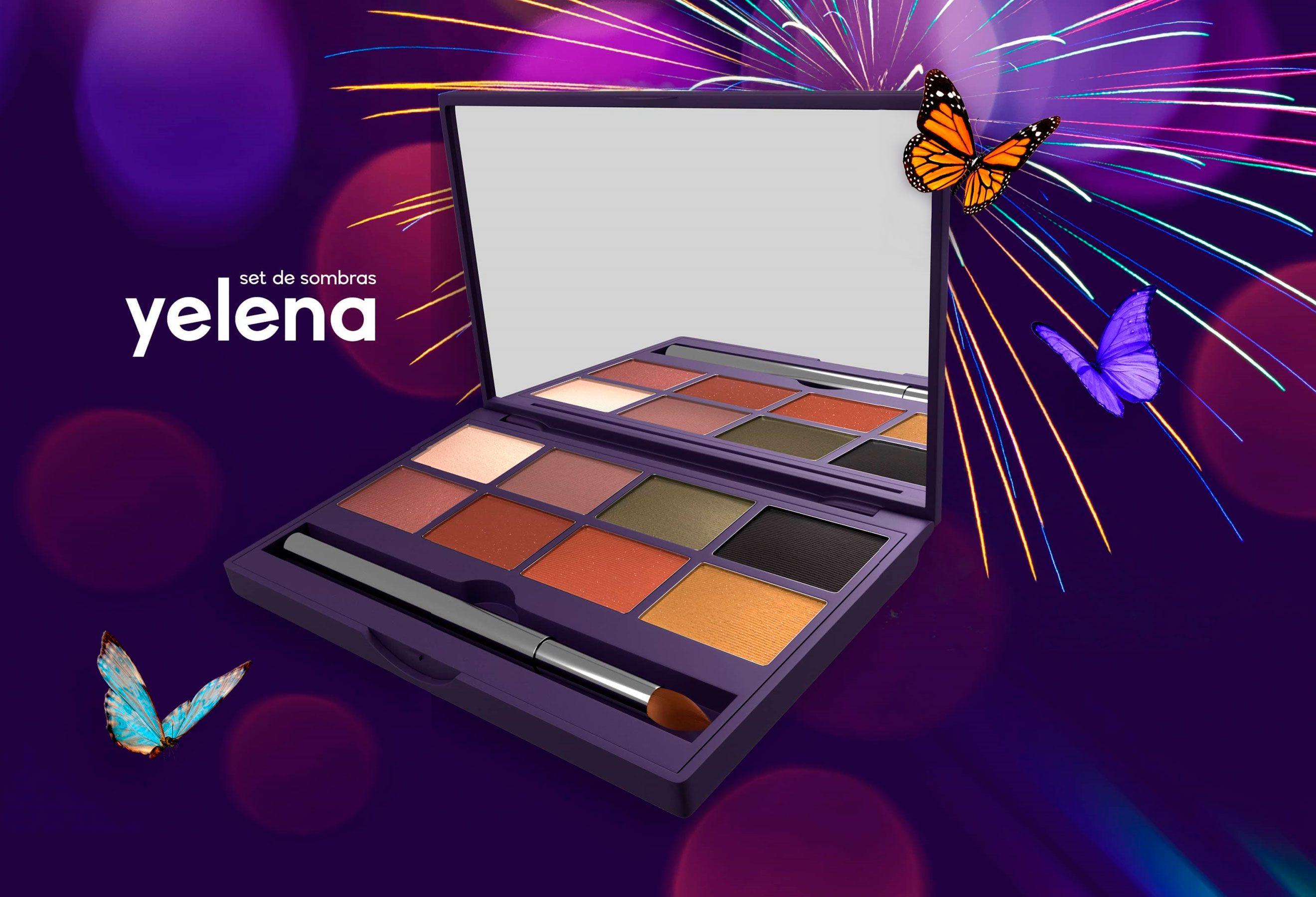 Palette Of Shades Seytu Maquillaje Paleta De Sombras Fijador Para El Cabello