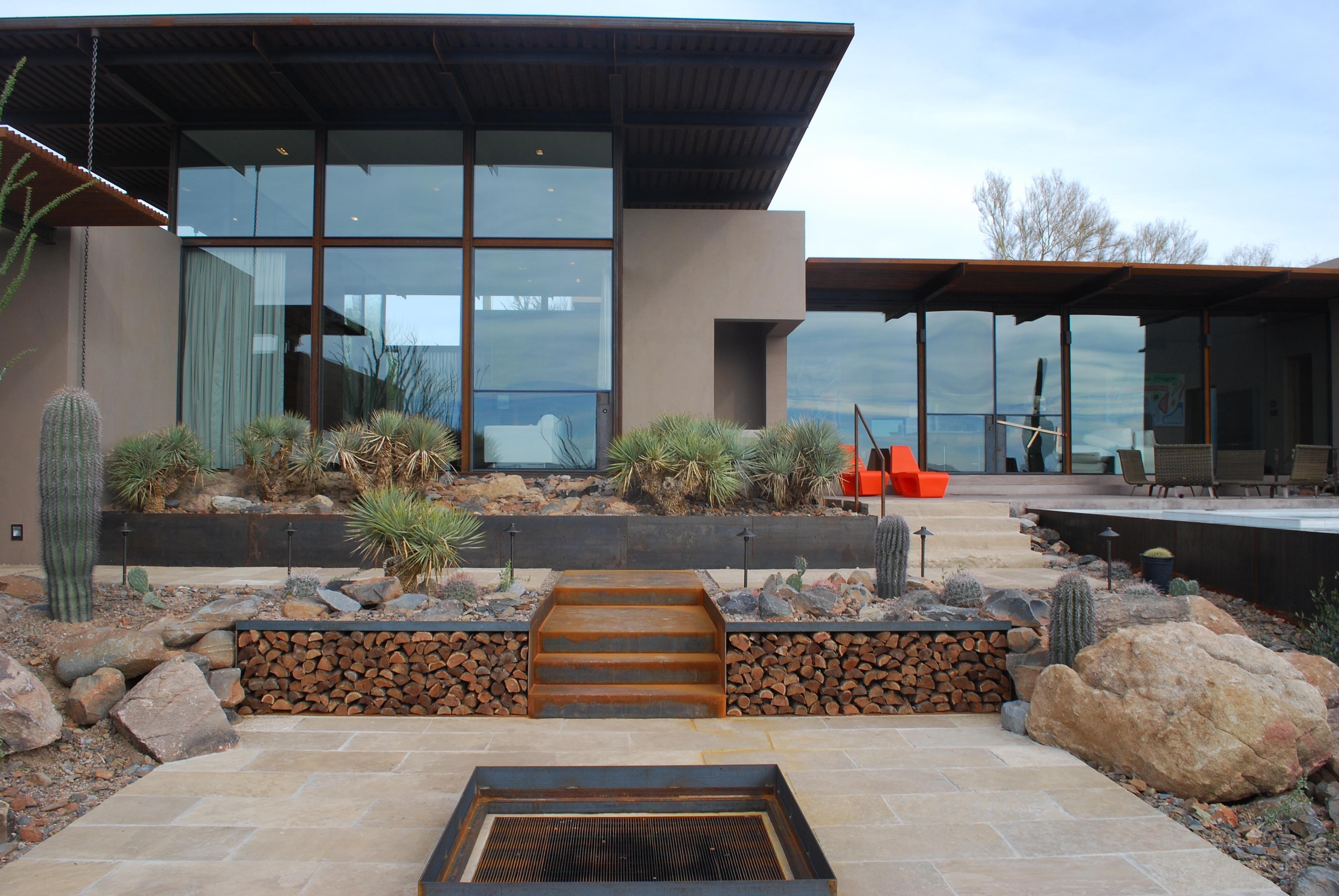 The Brown Residence A Desert Modern Custom Home In Scottsdale AZ By Lake