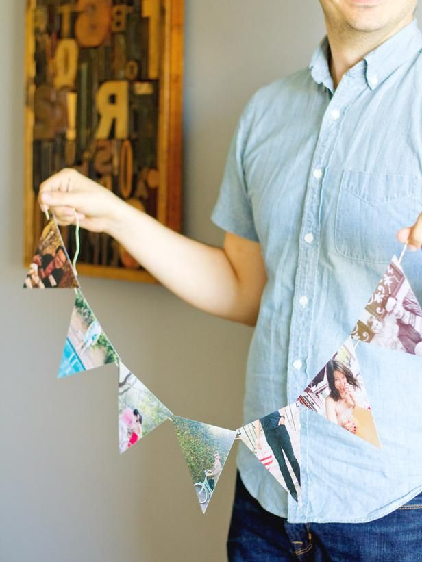 dea8eec596f Celebrate With Bunting - New Ways to Decorate With Instagram Photos on HGTV