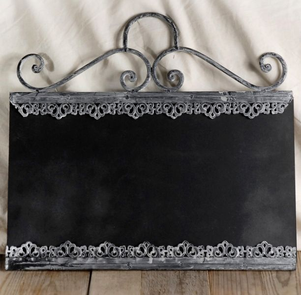 chalkboards decorative zinc framed 18 x - Decorative Chalkboards